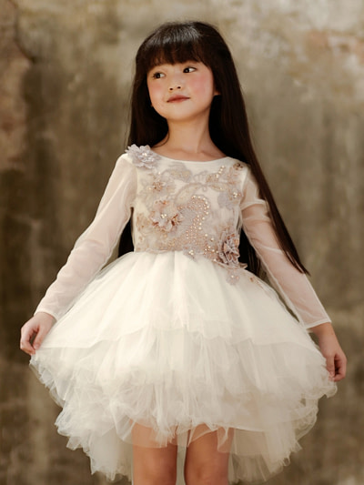 tutu šaty svetloružové