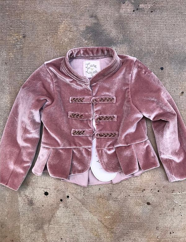 fialový kabátik Luna Luna Jimmy