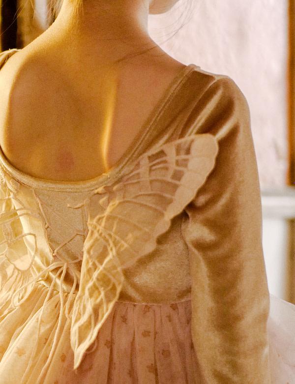 tutu šaty karamelové
