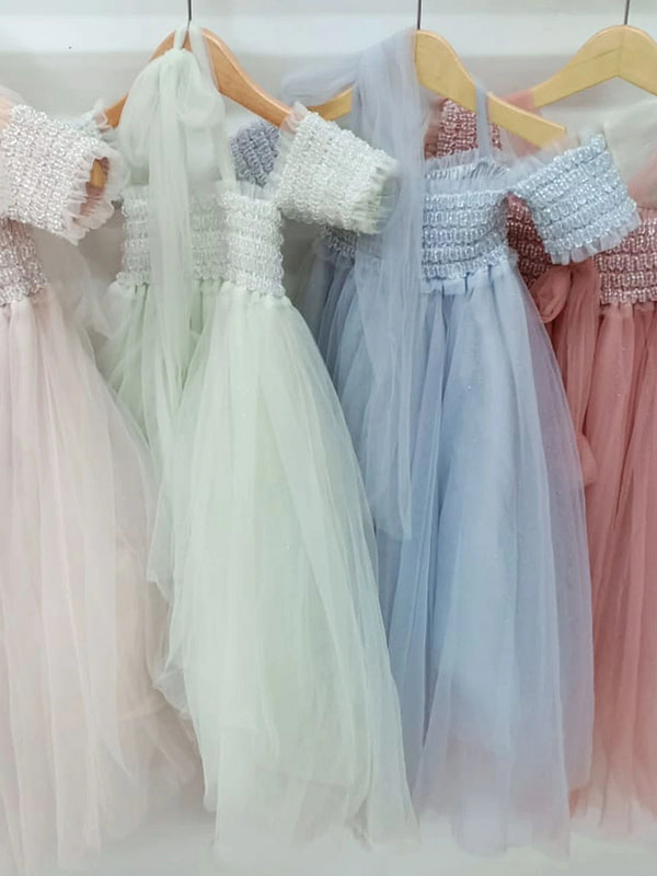tutu šaty v rôznych farbách