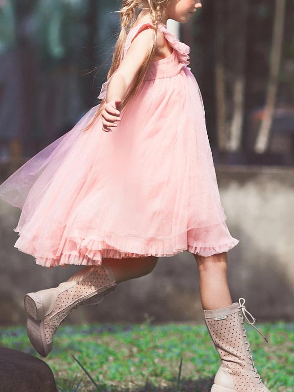 ružové tutu šaty