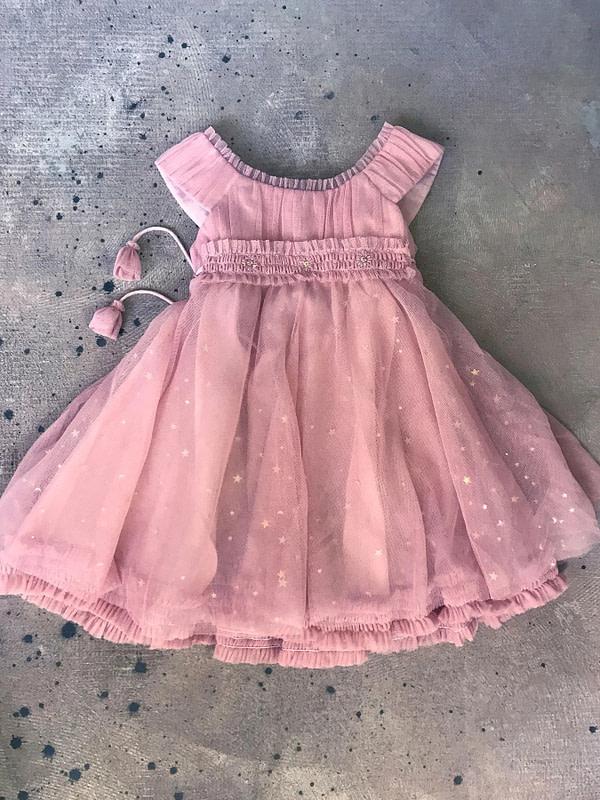 tutu šaty ružovo-fialové