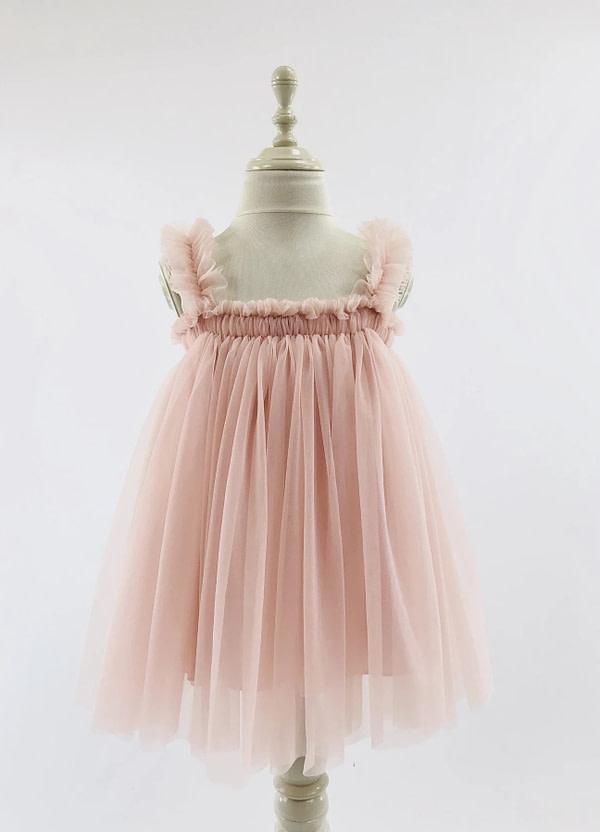 tutu šaty Beach Ballerina ružové